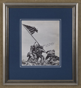 Iwo Jima (Bradley autograph)
