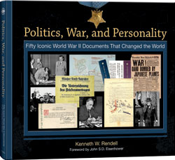 Politics, War and Personality