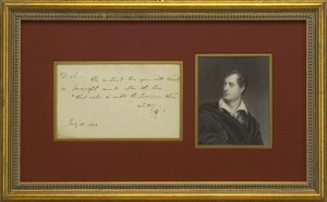 Byron, George Gordon
