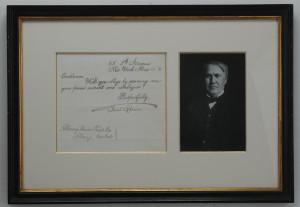 Edison, Thomas A