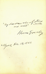Greeley, Horace
