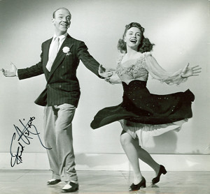 Fred Astaire autograph from K W Rendell Gallery