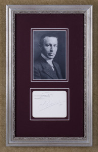 Rachmaninoff, Sergei