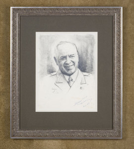 Georgi Zhukov letters for sale from K W Rendell Gallery
