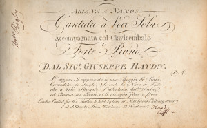 Franz Haydn letters for sale from K W Rendell Gallery